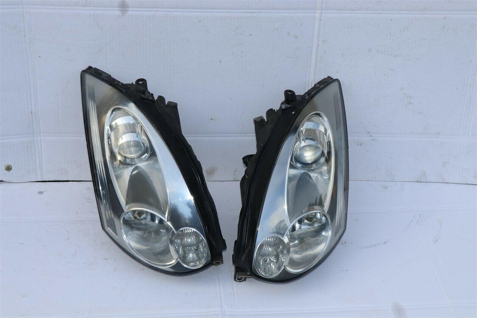 06-07 Infiniti G35 2dr Coupe HID Xenon HeadLight Head Light Lamp Set L&R