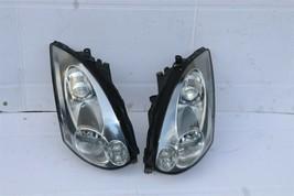 06-07 Infiniti G35 2dr Coupe HID Xenon HeadLight Head Light Lamp Set L&R image 1