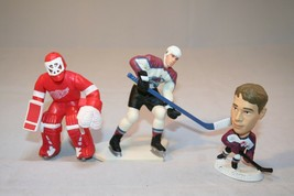 Lot of 3 NHL Hockey Player Figurines Action Figures OSGOOD & FORSBERG - $5.99