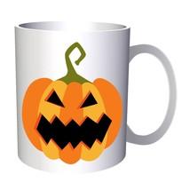 Scary Halloween Pumpkin 11oz Mug q191 - $203,52 MXN