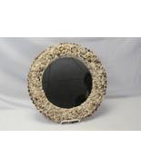 """Florida Seashell Mirror Round 14"""" x 14"""" Round Handmade - $68.59"""