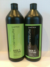 Matrix Total Results Rock It Shampoo and Conditioner Liter Duo - $40.00