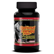 Optimal Energy 2080 Build Muscle increase Stamina Stay Focus 90 CAPS 1 B... - $13.75
