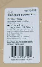 Project Source 0170418 Three Count 6 Inch Disposable Roller Trays image 6