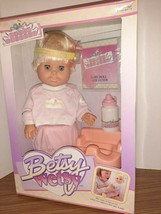 1989 Ideal Nursery BETSY WETSY Potty Training Doll NEW In Box Sealed - $59.40