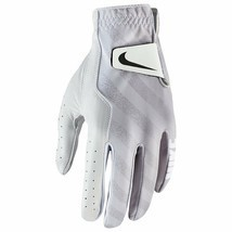 NEW NIKE TECH LEFT LARGE WOMEN'S GOLF GLOVE DRI-FIT GG0520-101 WHITE GRE... - $18.69