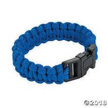 Large Blue Paracord Bracelets - $10.24