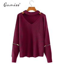 Winter Spring Women Sweaters Pullovers Casual Loose Knitted Sweater Women4 - $28.12