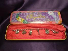 Brighton Nevada Las Vegas Charm Bracelet W/ Tin Case - $24.75