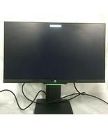 HP 25x 24.5 inch 1080p Full HD Flat Monitor - Black (Missing 1 of 4 stan... - $290.24