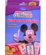 Mickey Mouse Numbers & Counting Learning Flash Cards - $4.94