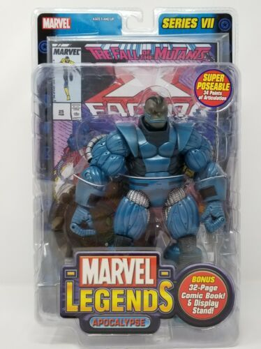 MARVEL LEGENDS Apocalypse X Factor SERIES VII TOY BIZ Action Figure NIB 2004