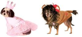 Cowardly Lion Wizard of Oz Rubie Good Witch Glinda Halloween Pet Dog Cat... - $19.95