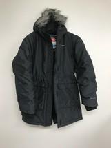 Columbia Girls Nordic Strider Jacket Black, Faux Fur Hood, Large - $19.30