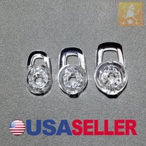 New Set 1 Small 1 Medium 1 Large Clear High Quality Ear Gels - $2.44