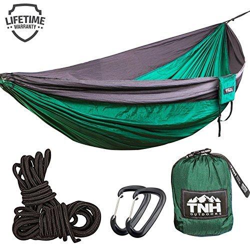 TNH Outdoors #1 Premium Double Camping Hammock Premium Quality Hammock - Stronge