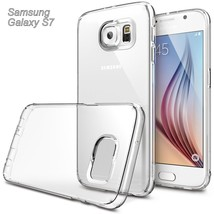 Galaxy S7 Case Clear Rubber Shockproof Protective Case Anti-Scratch Shamo's - $5.67
