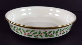 "LENOX China Holiday Dimension Coupe Soup Bowl 7-1/2"" Dinnerware - $34.64"