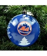 "NY New York Mets 3"" Plastic Christmas Holiday Ornament - $13.29"