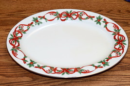 Noble Excellence 12 Days of Christmas * OVAL SERVING PLATTER * Excellent! - $39.99