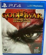 God of War 3 Remastered - PlayStation 4 PS4 Excellent Condition Free Shi... - $15.99