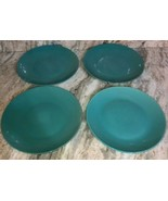 "Royal Norfolk 10 1/2"" Ceramic Type Dinner Plates Set Of 4 Teal(New)SHIPS... - $39.08"