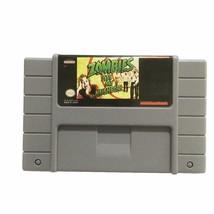 Zombies Ate My Neighbors USA Version Super Nintendo SNES NTSC Cartridge ... - $15.99
