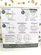 Under The Roof Decorating ''The Right Tools to Hang Stuff Kit'' 33 Pcs SEALED  image 3