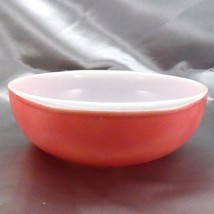 Pyrex 024 Pink Milk Glass Casserole Dish 2qt Serving Bowl ~ Made in the USA image 2