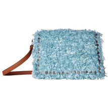 Steve Madden Kate Faux Fur/Corduroy Crossbody Bag, Blue $78 - $37.49