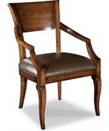 New Dining Arm Chair Fontaine Brown/Beige/Tan Birch Welt - $1,299.00