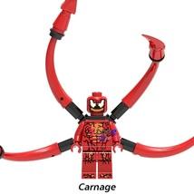Carnage Cletus Kasady Minifigures Marvel Comics Venom Single Sale Lego Block - $1.99