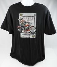 Harley Davidson Harley Wild Men's 2XL / XXL Black T-shirt Conway Hampshire - $22.43