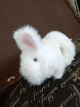 ANIMAGIC Snowy My Hopping Bunny Plush Interactive Pet Rabbit WORKS 2010 - $7.91