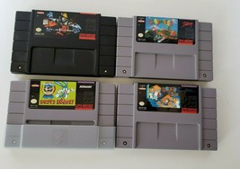 4 Super Nintendo Video Games Killer Instinct Buster Claymates BEBE'S 199... - $24.98