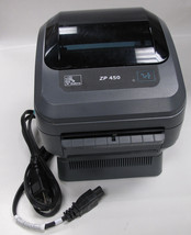 Zebra ZP450 Thermal Label BarCode Printer USB and Serial ports Good Cond... - $207.90