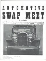 Vtg AUTOMOTIVE SWAP MEET MONTHLY Magazine NOVEMBER 1967 Roadster Model T... - $19.79