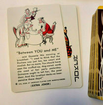 Vintage Fifth Avenue Playing Cards with Woman and Cattails  (Inv. 001) image 7