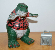 "Vintage DINOSAURS EARL SINCLAIR Action Figure With Lunchbox 5"" 1990s Disney - $18.87"