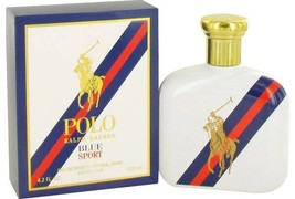 Ralph Lauren Polo Blue Sport Cologne 4.2 Oz Eau De Toilette Spray image 6