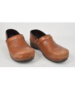 Dansko Womens Clog Leather Brown 41 - $44.55