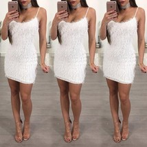 Fashion Women Sleeveless Bandage Bodycon Evening Party Cocktail Club Min... - $26.52