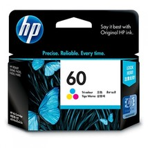 Tri-color Ink - HP 60 Standard Ink Cartridge (for Deskjet D2500/D2530/F4... - $40.99