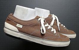 Men's SIMPLE Eco Friendly Casual Cool Bark Brown Canvas Sneaker Sz. 40/7... - $39.34