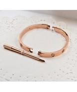 Love Bracelet Gold Rose  - Perfect Match for Michael Kors watch - $24.90