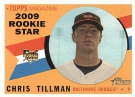 2009 Topps Heritage #690 Chris Tillman Orioles (High Series) NM-MT (RC -... - $10.00