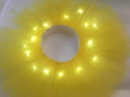 WOMEN MINI TUTU Skirt with Lights High Waisted Many Color Mini Petticoat Costume image 11