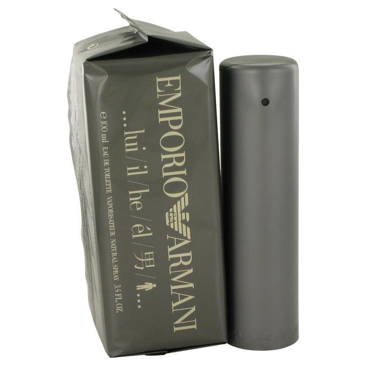 EMPORIO ARMANI by Giorgio Armani Eau De Toilette  3.4 oz, Men - $83.85