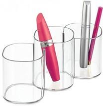 Bathroom Accessories Makeup Organizers Cosmetic Organizer Trio Vanity Ca... - $27.67