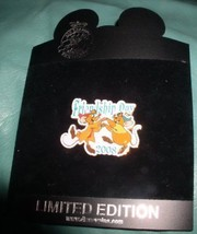 Jaq Gus Cinderella pals LE 25 0Authentic Disney pin on card - $95.99